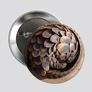 "curled up pangolin 2.25"" Button"