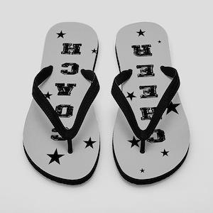 3ff79c7cde3594 Cheerleader Coach Flip Flops - CafePress