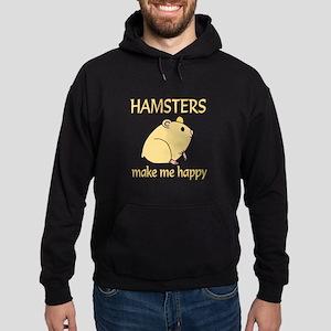 Hamster Happy Hoodie (dark)