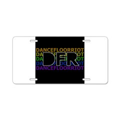 DFR Aluminum License Plate
