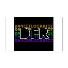 DFR Rectangle Car Magnet
