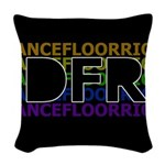 DFR Woven Throw Pillow