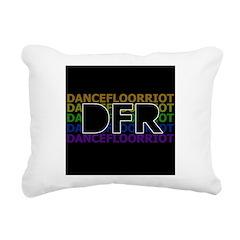 DFR Rectangular Canvas Pillow