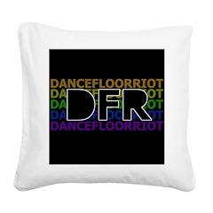 DFR Square Canvas Pillow
