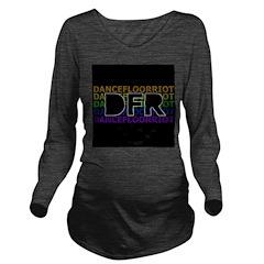 DFR Long Sleeve Maternity T-Shirt
