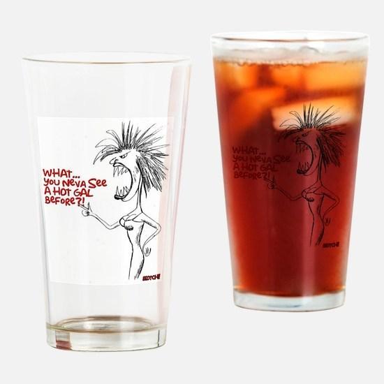 Cute Urban humor Drinking Glass