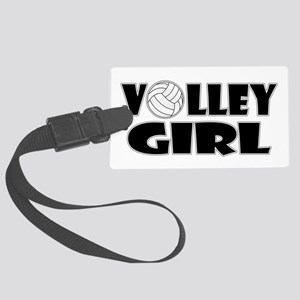 Volley Girl Large Luggage Tag