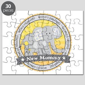 New Mom Elephant Puzzle