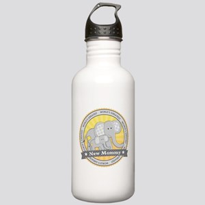 New Mom Elephant Stainless Water Bottle 1.0L