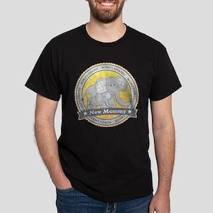 New Mom Elephant Dark T-Shirt