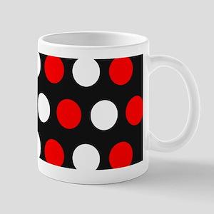 Red White Polka Dot Mugs - CafePress