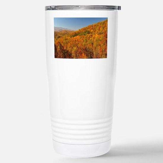 Bright Autumn Day Stainless Steel Travel Mug