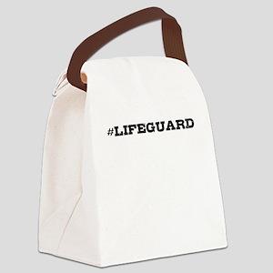 Lifeguard Hashtag Canvas Lunch Bag