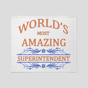Superintendent Throw Blanket