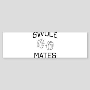 Swole mates Bumper Sticker