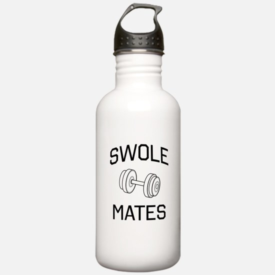 Swole mates Water Bottle