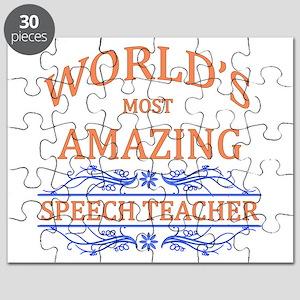 Speech Teacher Puzzle