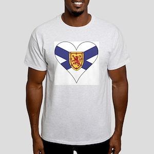 Love Nova Scotia Light T-Shirt