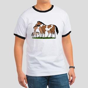 Happy Indian Horses Ringer T