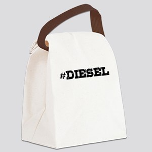 Diesel Hashtag Canvas Lunch Bag