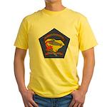 USS L. MENDEL RIVERS Yellow T-Shirt