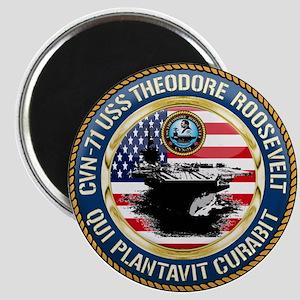 CVN-71 USS Theodore Roosevelt Magnet