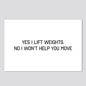 Yes i lift no wont help you Postcards (Package of