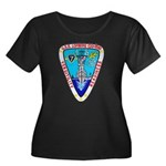 USS LOFB Women's Plus Size Scoop Neck Dark T-Shirt