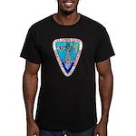 USS LOFBERG Men's Fitted T-Shirt (dark)