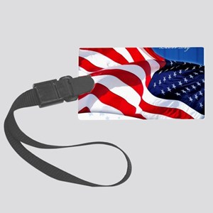 Labor Day Large Luggage Tag