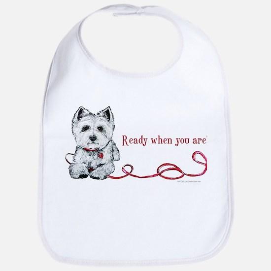Westhighland White Terrier Re Bib