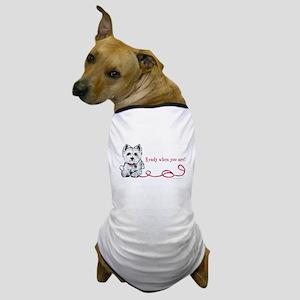 Westhighland White Terrier Re Dog T-Shirt