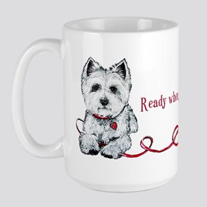 Westhighland White Terrier Re Large Mug