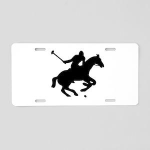 POLO HORSE Aluminum License Plate