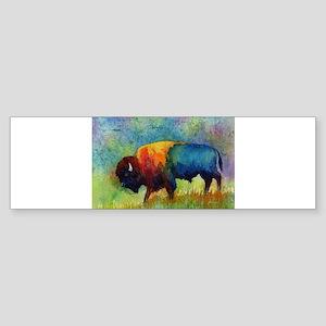 American Buffalo III Bumper Sticker