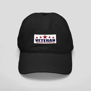 Veteran World War II Black Cap