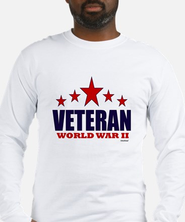 Veteran World War II Long Sleeve T-Shirt