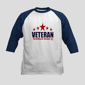 Veteran World War II Kids Baseball Jersey