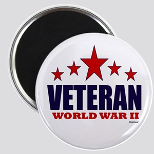 Veteran World War II Magnet