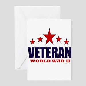 Veteran World War II Greeting Card