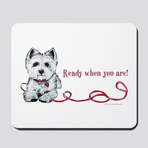 Westhighland White Terrier Re Mousepad