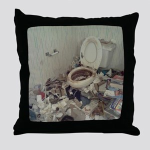 Hoarders Throw Pillow