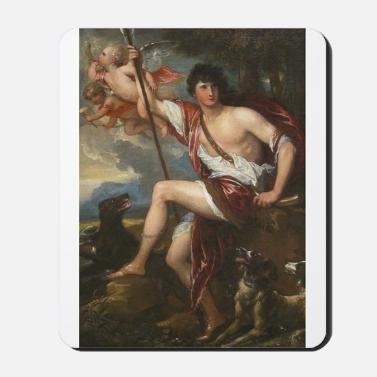 Vintage Paintng of Adonis Mousepad