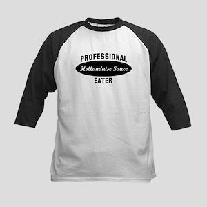 Pro Hollandaise Sauce eater Kids Baseball Jersey