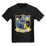 USS MANLEY Kids Dark T-Shirt