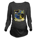 USS MANLEY Long Sleeve Maternity T-Shirt