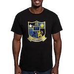 USS MANLEY Men's Fitted T-Shirt (dark)