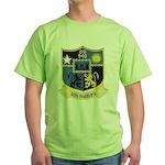 USS MANLEY Green T-Shirt