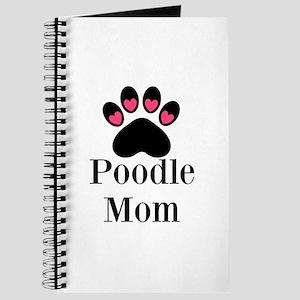 Poodle Mom Paw Print Journal