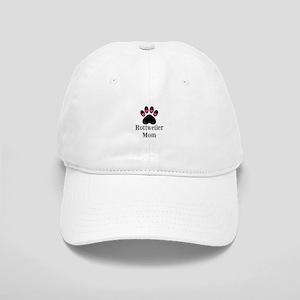Rottweiler Mom Paw Print Baseball Cap